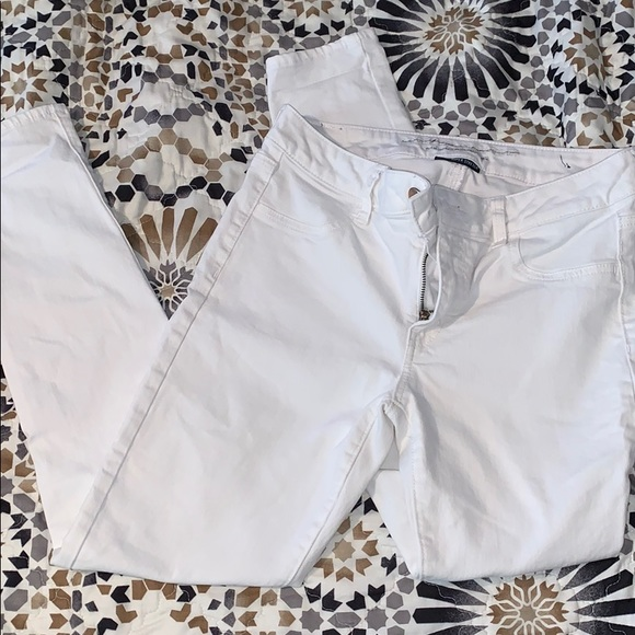 American Eagle Outfitters Denim - White American Eagle jeans